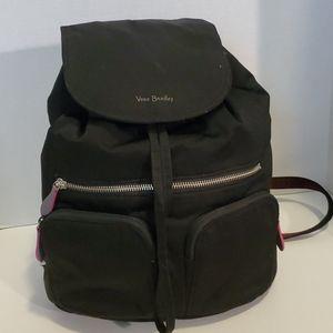 Vera Bradley Black Backpack